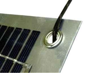 Immagine di Kit Montaggio Pannelli Solari Flessibili Kit montaggio pannello solare flessibile con occhielli