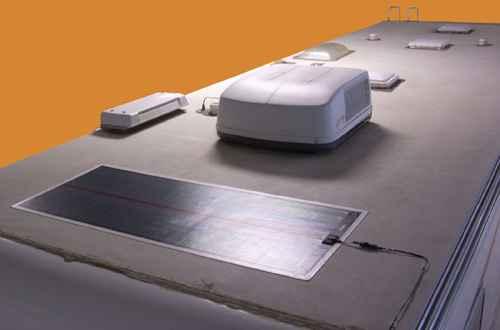 Pannello Solare Adesivo Flessibile : Kit montaggio pannelli solari flessibili