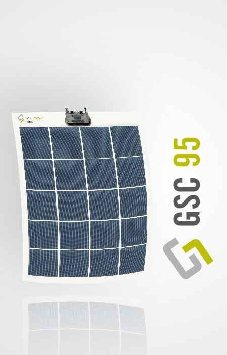 Pannello Solare Fotovoltaico Flessibile : Kit pannello solare flessibile w monocristallino gioco