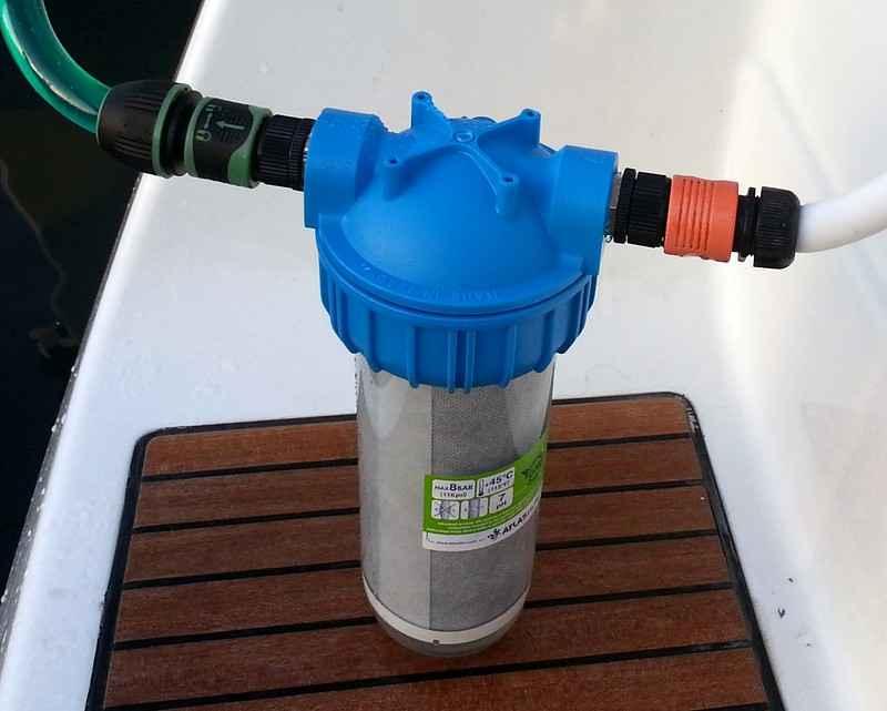 KIT Filtro Depurazione acqua dolce + regolatore pressione - Negozio Equo