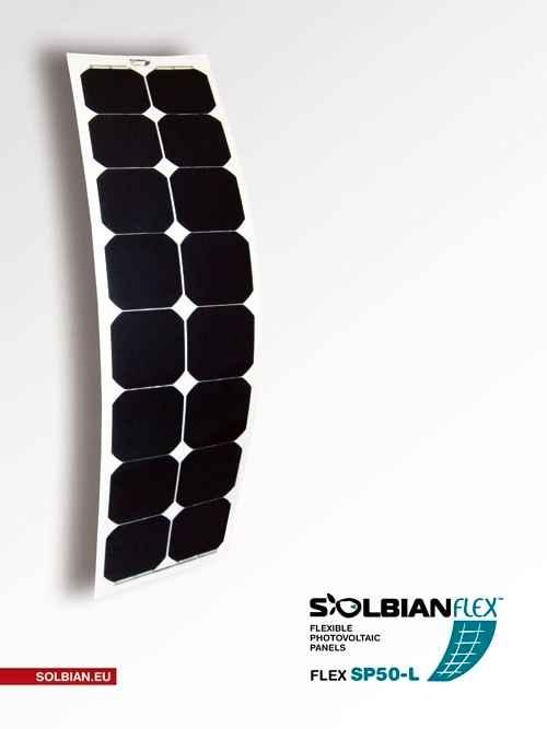 Pannello Solare Flessibile 150 Watt : Pannello solare flessibile w solbian sp negozio equo