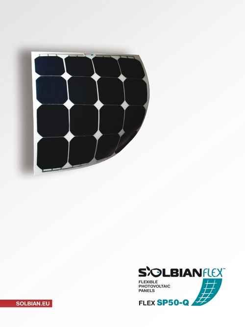 Pannello Solare Adesivo Flessibile : Pannello solare flessibile w solbian sp negozio equo
