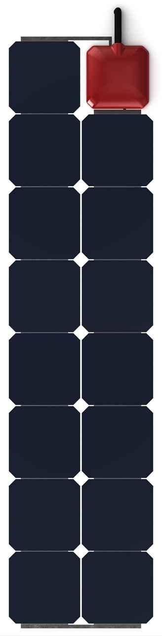 Pannello Solare Fotovoltaico Flessibile : Pannello solare flessibile w solbian all in one sp