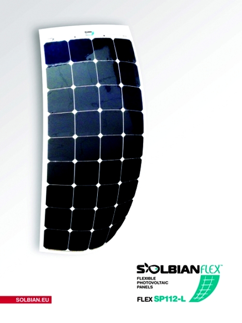 Kit Pannello Solare Flessibile : Kit pannello solare flessibile w solbian sp ora
