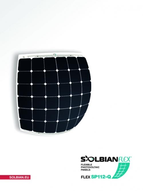 Pannello Solare Watt Ora : Kit pannello solare flessibile w solbian sp ora