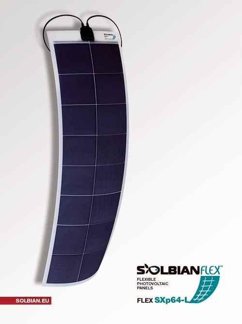Fissaggio Pannello Solare Flessibile : Kit pannello solare flessibile w solbian sxp negozio
