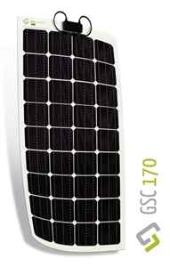 Immagine di Kit Pannello solare flessibile 170W Monocristallino Gioco Solution GSC 170