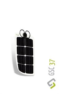 Immagine di Kit Pannello solare flessibile 39W Monocristallino Gioco Solution GSC 39 (era GSC 37)