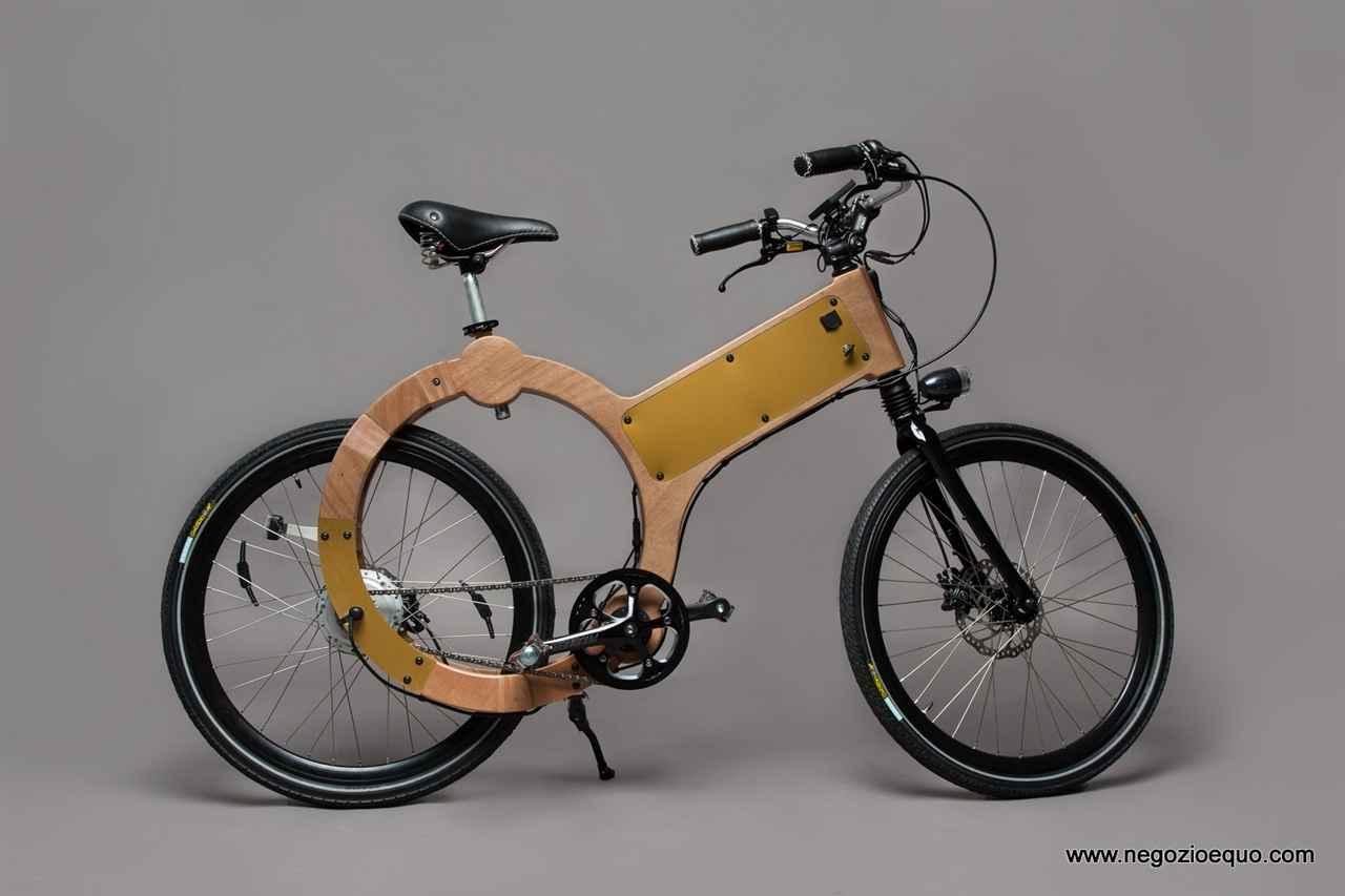 Wood e bike bicicletta a pedalata assistita negozio equo for Bici elettrica assistita