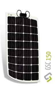 Immagine di Pannello solare flessibile Monocristallino 150W Gioco Solution GSC 150