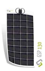 Immagine di Kit pannello solare flessibile 130w policristallino Gioco Solutions GSP 130