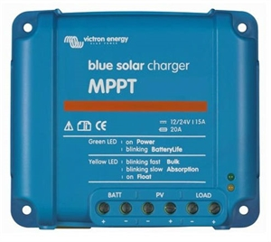 Immagine di Regolatore di carica per Solare Victron BlueSolar 75-10 MPPT