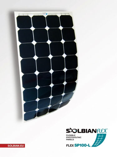 Picture of Kit pannello solare flessibile 100W Solbian SP100