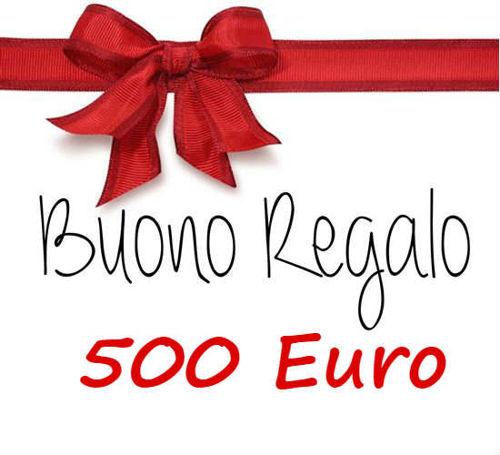 Picture of Buono regalo da 500 Euro