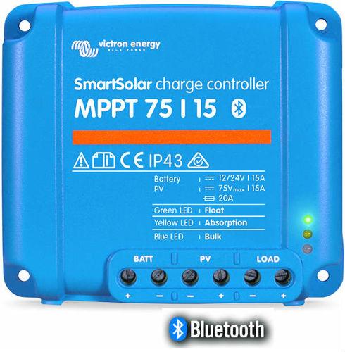 Picture of Regolatore di carica per Solare Victron SmartSolar 75-15 MPPT Bluetooth
