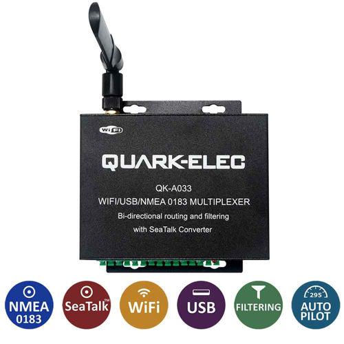 Quark-Elec A033 Multiplexer WiFi+Seatalk Bidirezionale