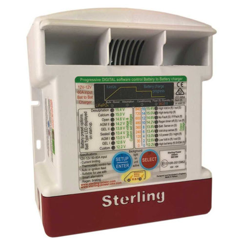 Battery to Battery Charger BB1260 Sterling Power