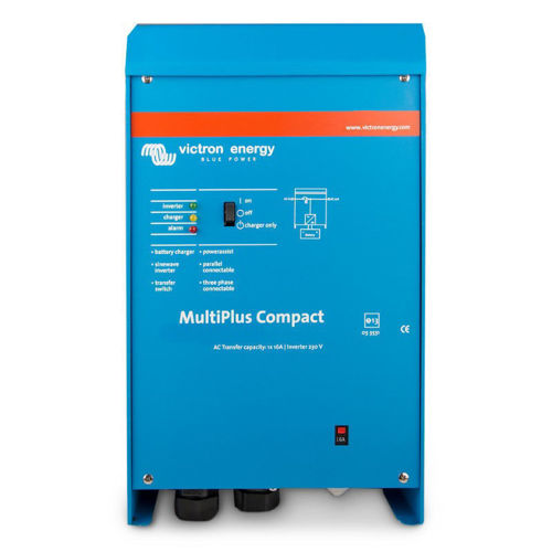 Victron Multiplus Compact Caricabatterie 12V 50A-Inverter 1200 VA