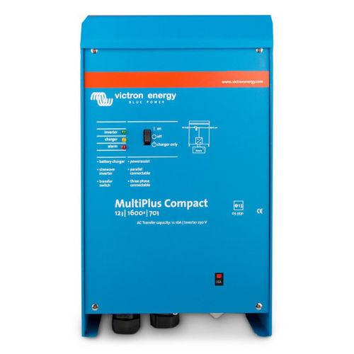 Victron Multiplus Compact Caricabatterie 12V 70A - Inverter 1600 VA