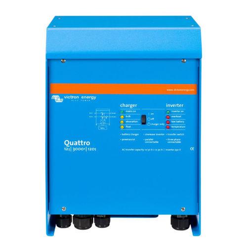 Victron Quattro Caricabatterie 12V 120A - Inverter 3000 VA