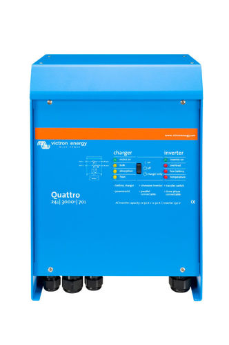 Victron Quattro Caricabatterie 24V 70A - Inverter 3000 VA