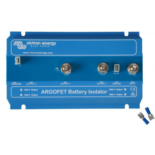 Ripartitore di Carica MOSFET 100 Ampere Victron ArgoFET 2 batterie