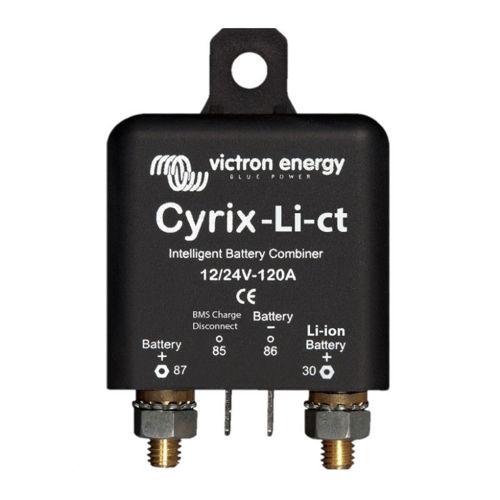 Combinatore di batterie Victron Cyrix-Li-ct 12-24V 120A per batterie al litio