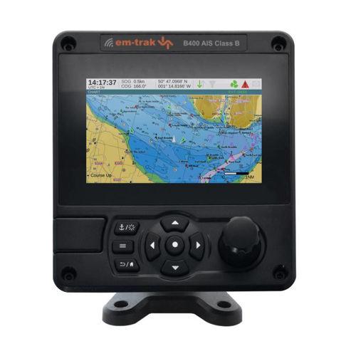 AIS Ricetrasmittente Em-Trak 5 Watt con display IP67 integrato